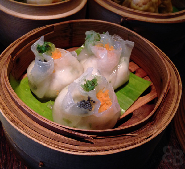 plum valley black cod dumpling