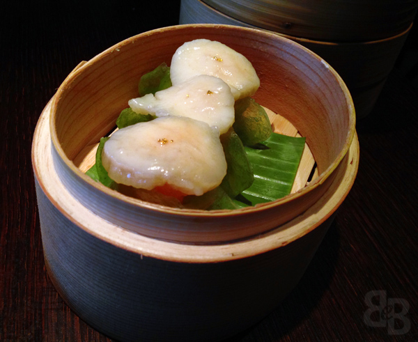 plum valley scallop dumpling